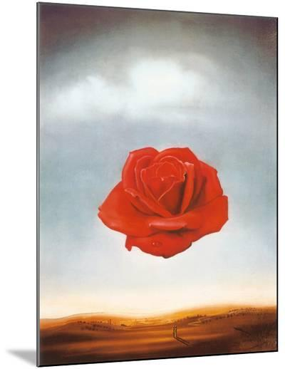 Rose Meditative, c.1958-Salvador Dal?-Mounted Print