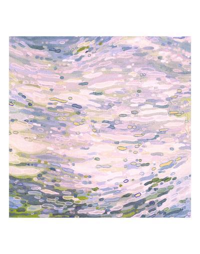 Rose Quartz Reflections-Margaret Juul-Art Print