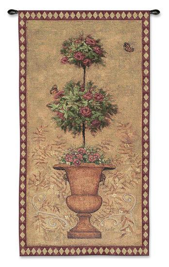 Rose Topiary I-Jill Schultz McGannon-Wall Tapestry