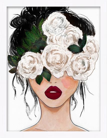 Rose Vision Framed Art--Alternative Wall Decor