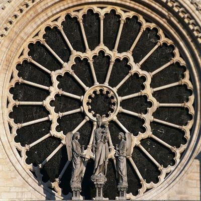 Rose Window, Notre-Dame Cathedral--Giclee Print