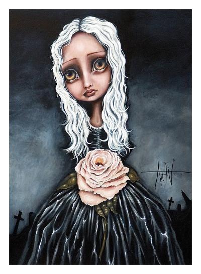 Rose-Angelina Wrona-Art Print