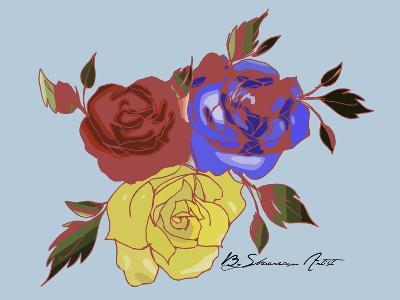 Rose-Shacream Artist-Giclee Print
