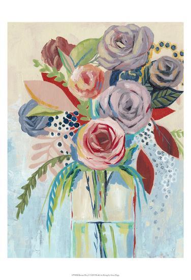 Roseate Posy I-Grace Popp-Art Print