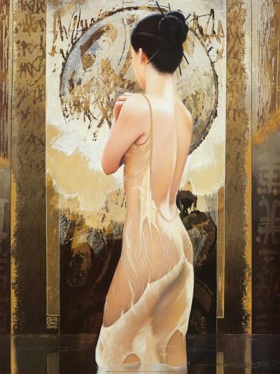 Rosee celeste-David Graux-Art Print