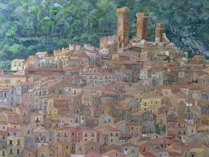 Pacentro, Abruzzi, Italy by Rosemary Lowndes