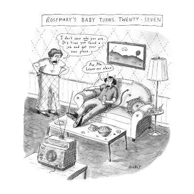 ROSEMARY'S BABY TURNS TWENTY-SEVEN - New Yorker Cartoon-Roz Chast-Premium Giclee Print