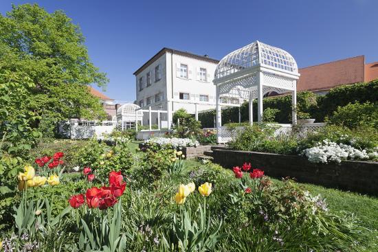 Rosengarten (Rose Garden) in Spring, Ettlingen, Baden-Wurttemberg, Germany, Europe-Markus Lange-Photographic Print