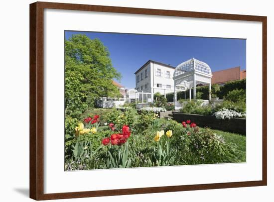 Rosengarten (Rose Garden) in Spring, Ettlingen, Baden-Wurttemberg, Germany, Europe-Markus Lange-Framed Photographic Print