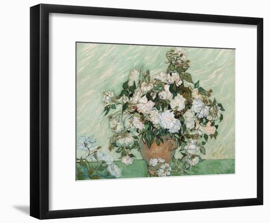 Roses, 1890-Vincent van Gogh-Framed Giclee Print