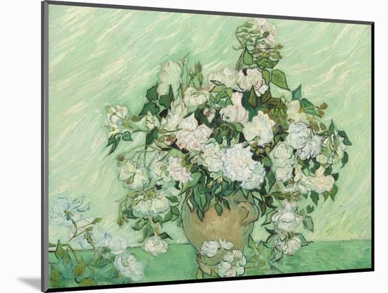 Roses, 1890-Vincent van Gogh-Mounted Giclee Print