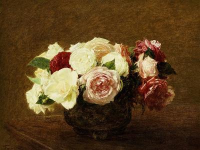 Roses, 1894-Henri Fantin-Latour-Giclee Print