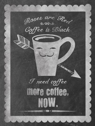 Roses Coffee-Erin Clark-Giclee Print