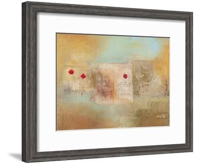 Roses for You-Charaka Simoncelli-Framed Giclee Print
