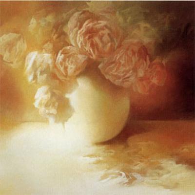 Roses II-Peggy Silbermann-Art Print