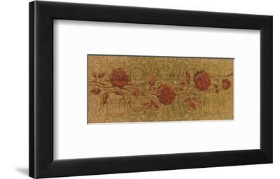 Roses Interlace-Mali Nave-Framed Art Print