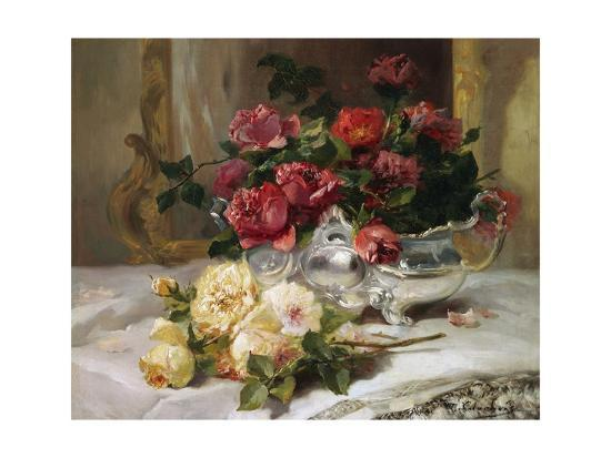 Image result for roses on a table