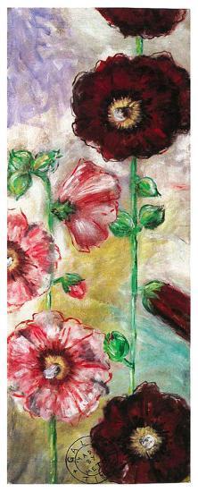 Roses Trémières I-Mette Galatius-Art Print