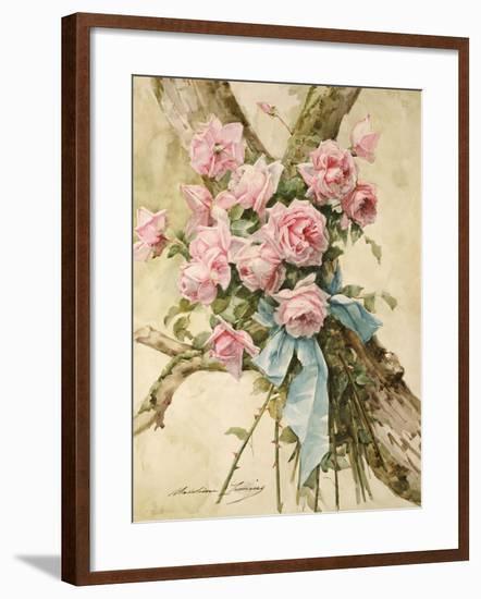 Roses-Madeleine Lemaire-Framed Giclee Print