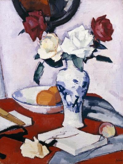 Roses-Samuel John Peploe-Giclee Print
