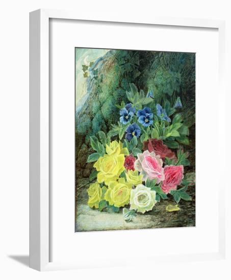 Roses-Oliver Clare-Framed Premium Giclee Print