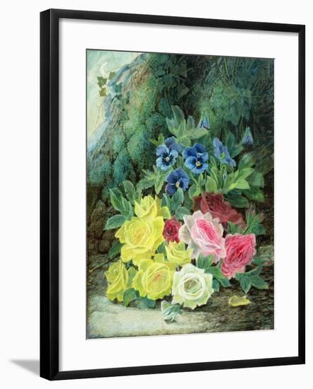 Roses-Oliver Clare-Framed Giclee Print