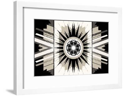 Rosette Burst--Framed Art Print