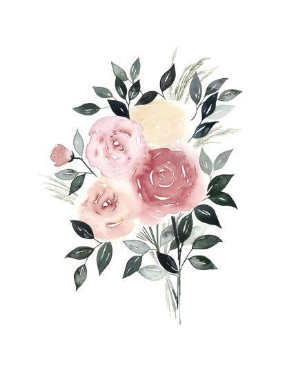 Rosewater I-Grace Popp-Art Print