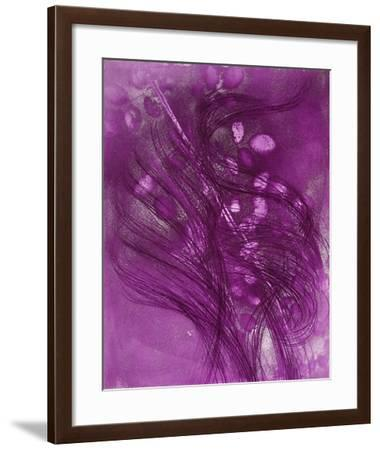Rosiers en Diagonale-Jean Messagier-Framed Limited Edition