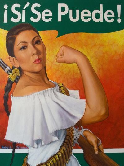 Rosita (¡Sí Se Puede!)-Robert Valadez-Art Print