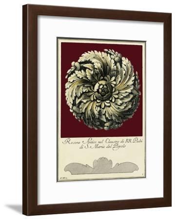 Rosone Antico IV-Guerra-Framed Art Print