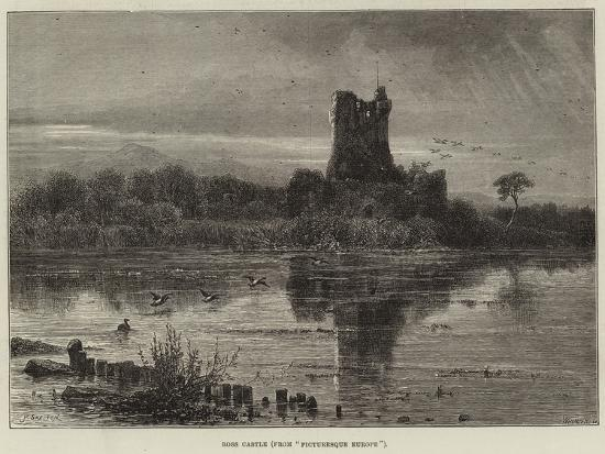 Ross Castle, from Picturesque Europe--Giclee Print