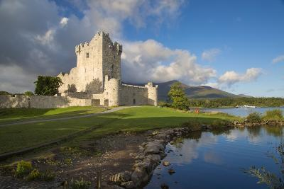 Ross Castle on Lough Leane Near Killarney, County Kerry, Ireland-Brian Jannsen-Photographic Print