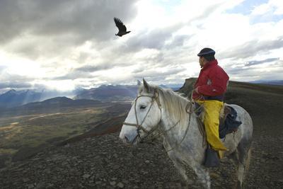 Gaucho and Condor Natales Chile