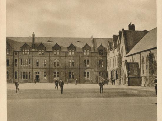 'Rossall School', 1923-Unknown-Photographic Print