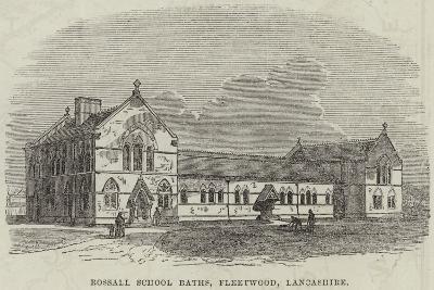 Rossall School Baths, Fleetwood, Lancashire--Giclee Print