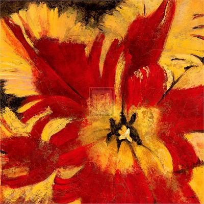 Rosso Fiore I-Citrine-Art Print