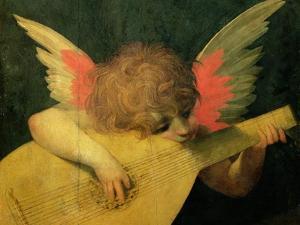 Angel Musician, c.1520 by Rosso Fiorentino (Battista di Jacopo)