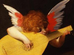 Musical Angel, 1521 by Rosso Fiorentino