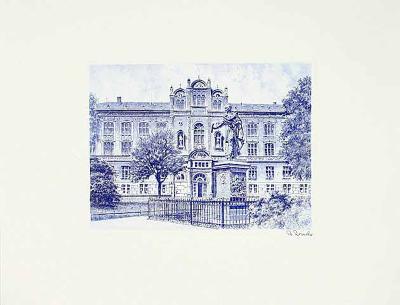 Rostock, Universität-Bruck-Collectable Print