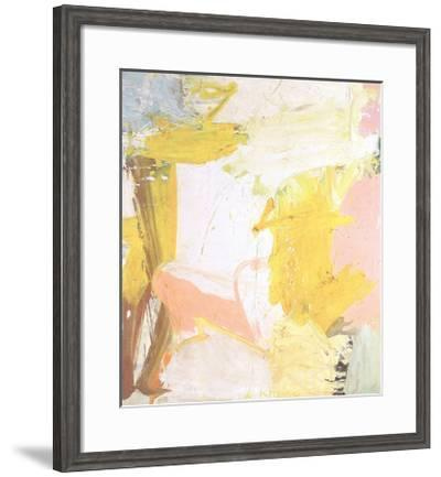 Rosy-Fingered Dawn At Louse Point-Willem de Kooning-Framed Premium Edition