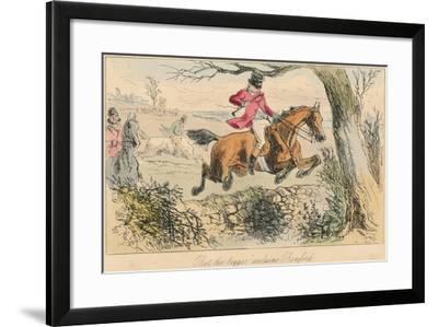 Rot the Beggar Exclaims Romford, 1865-John Leech-Framed Giclee Print