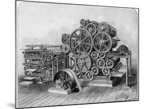 Rotary Machine for Printing Newspapers
