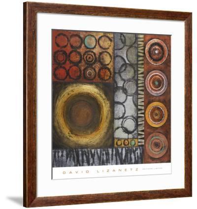 Rotate II-David Lizanetz-Framed Art Print