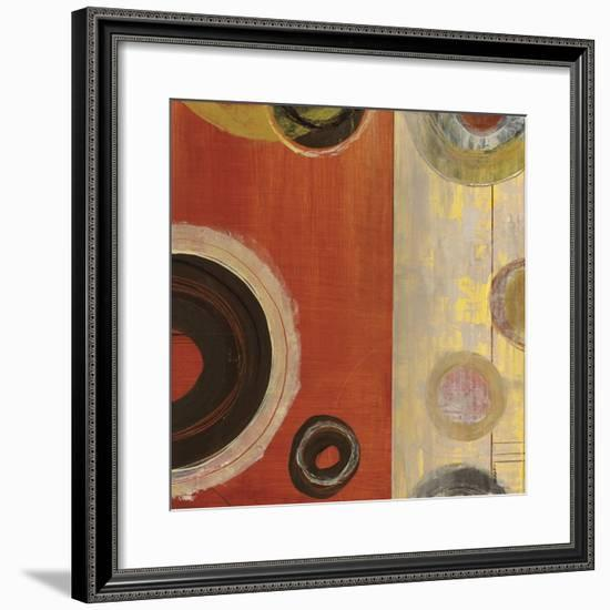 Rotation II-Kannon-Framed Art Print