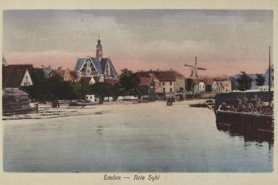 Rote Syhl, Emden, Germany--Photographic Print
