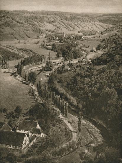 'Rothenburg o. d. T. - Taubertal', 1931-Kurt Hielscher-Photographic Print