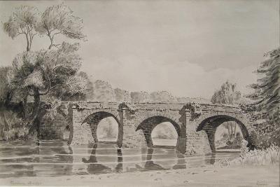 Rothern Bridge--Giclee Print