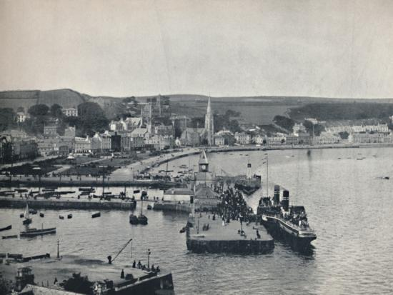 'Rothesay - The Landing-Stage and Esplanade', 1895-Unknown-Photographic Print
