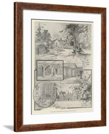 Rothley Temple, Leicestershire, the Birthplace of Lord Macaulay-Joseph Holland Tringham-Framed Giclee Print